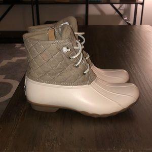 Saltwater Duck Sperry Boots